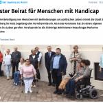 Besuch der konstituierenden Sitzung des Behindertenbeirates Bad Segeberg