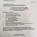 Besuch der Mitgliederversammlung der Volkshochschule Bad Segeberg
