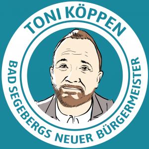 Toni Köppen - Segebergs neuer Bürgermeister